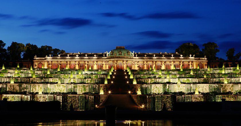 Sanssouci Palace Night