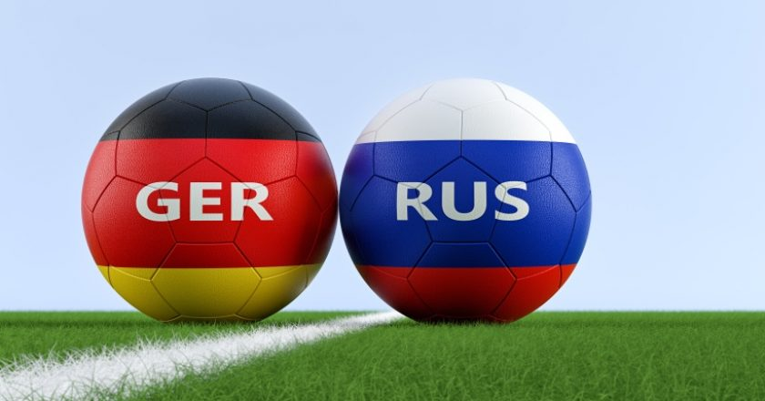 football Germany Russia
