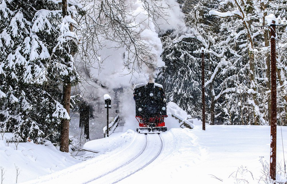 Train to the Brocken mountain
