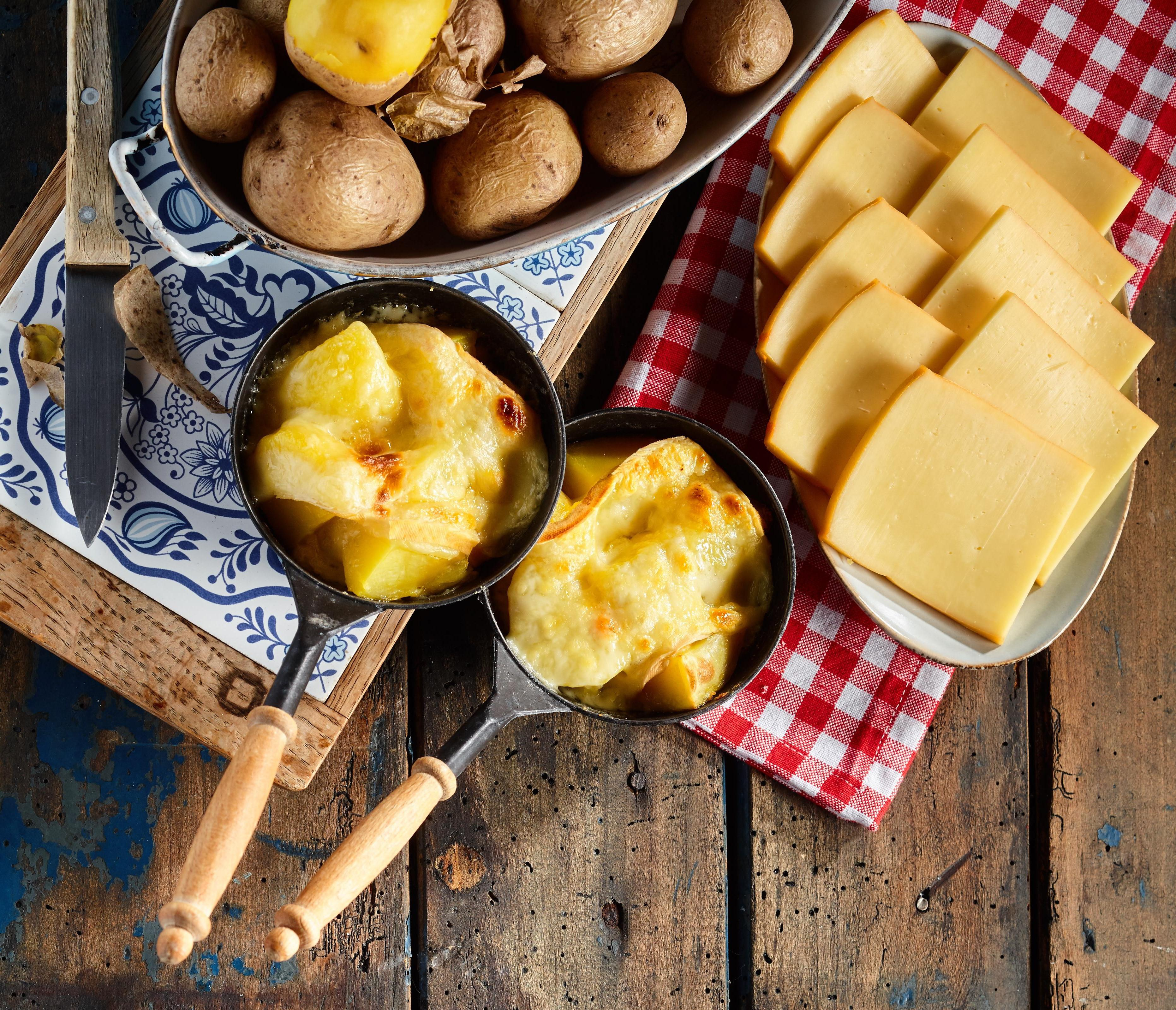 potatoes and cheese