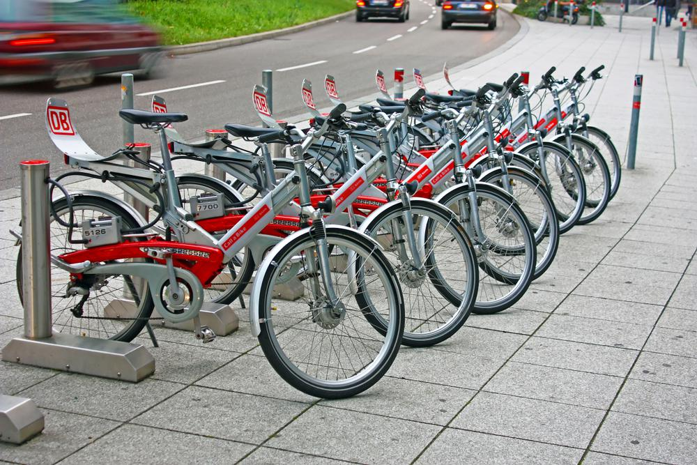 Bisycle DB for rent in Germany