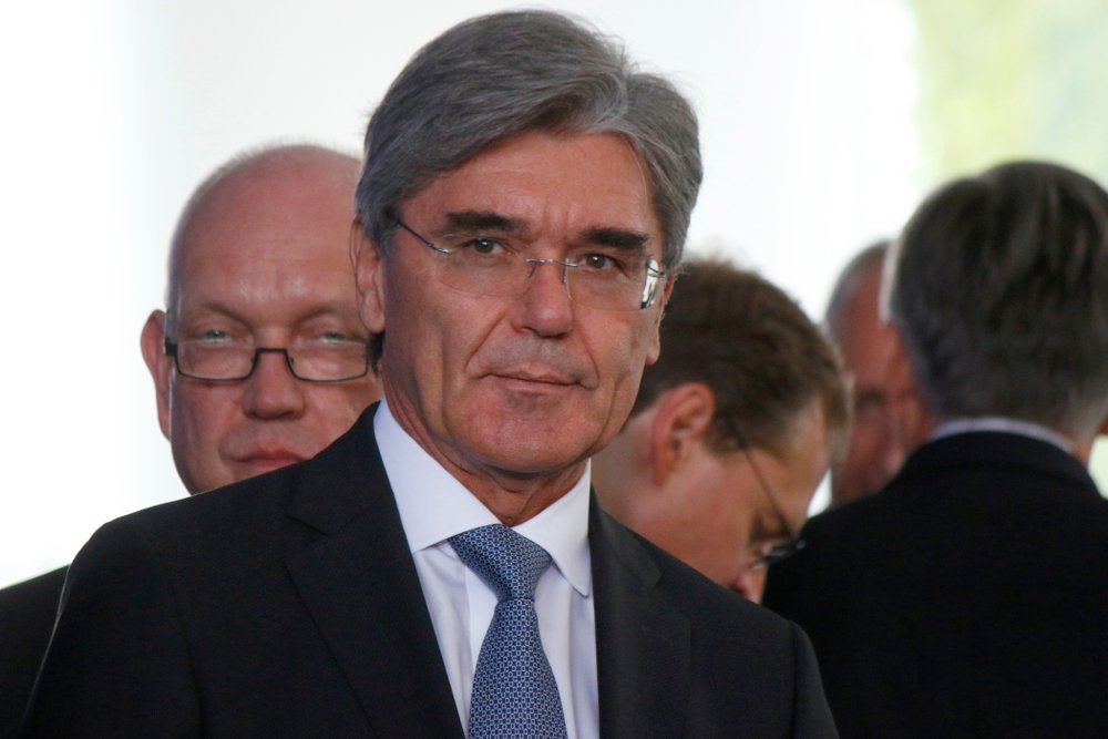 Joe Kaeser (CEO of Siemens)