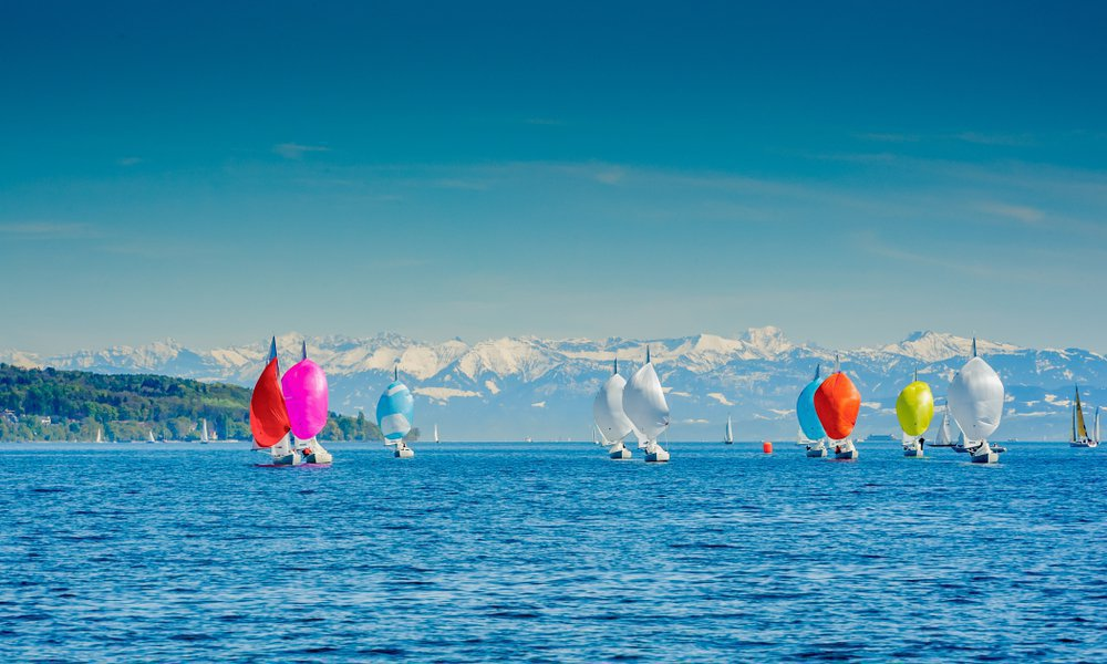 Yachts on Constanz Lake, Germany