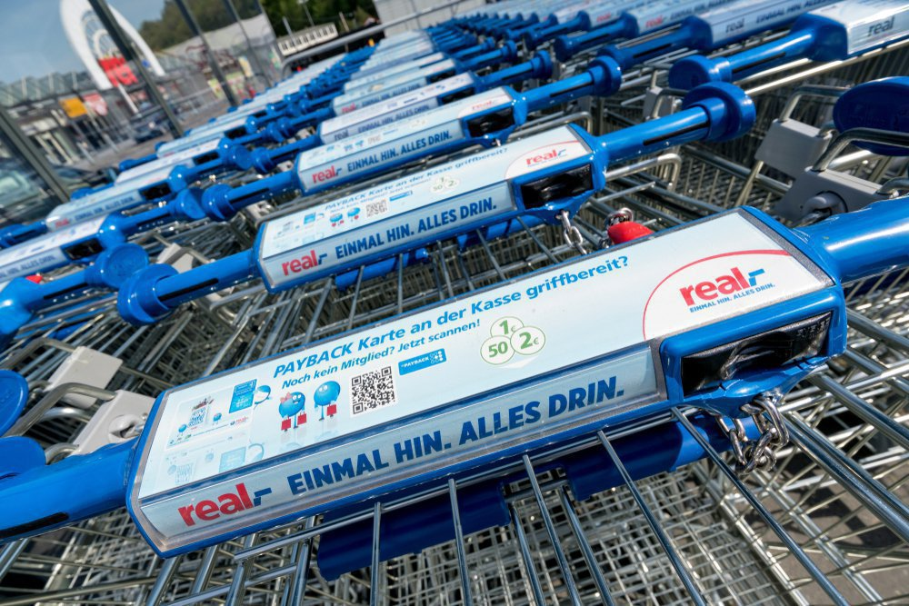 shopping trolley real