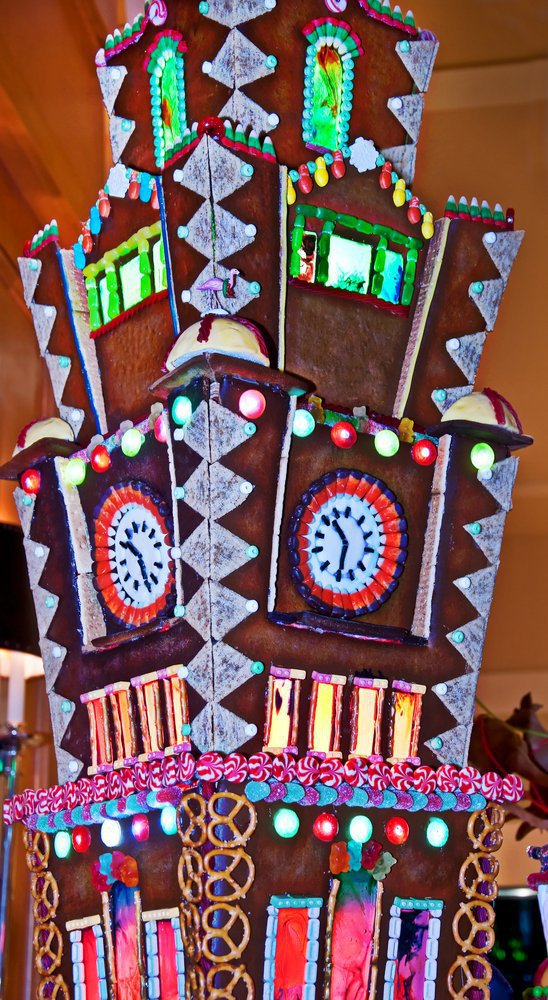 gingerbread tower