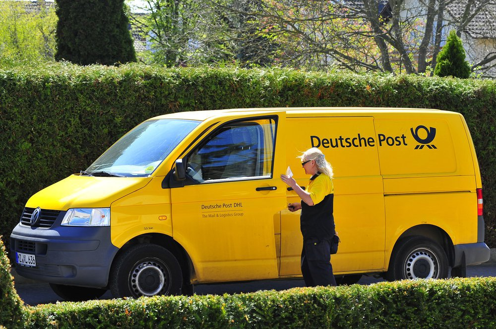 доставка посылок Deutsche Post фото
