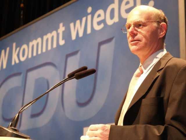 немецкий политик и член ХДС Норберт Ламмерт фото