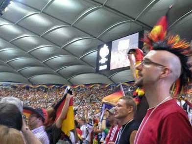 немецкие фанаты фото