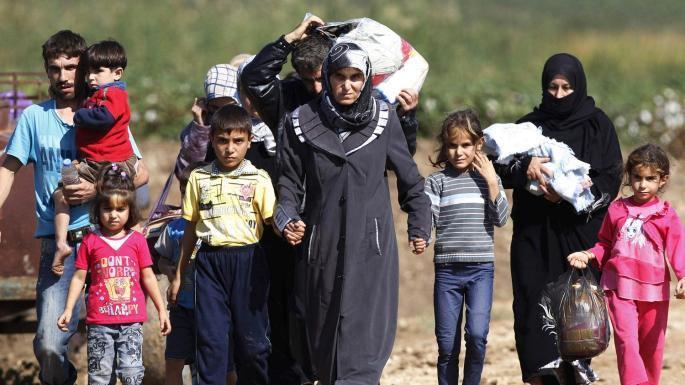 сирийские беженцы фото