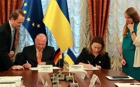 Коммюнике 7-го заседания Межправительственной украинско-германской комиссии по сотрудничеству по делам лиц немецкого происхождения, которые проживают в Украине фото 1