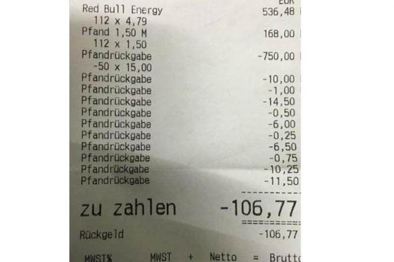 Как стать миллионером: баварец сдал бутылок почти на тысячу евро
