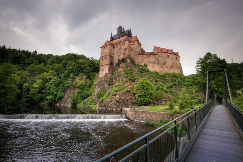 Крибштайн – красивейший саксонский замок с голливудской известностью фото 1