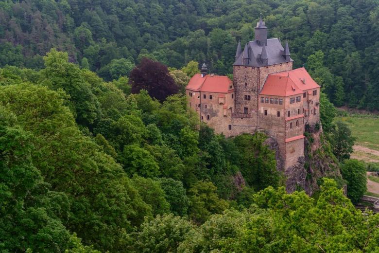 Крибштайн – красивейший саксонский замок с голливудской известностью