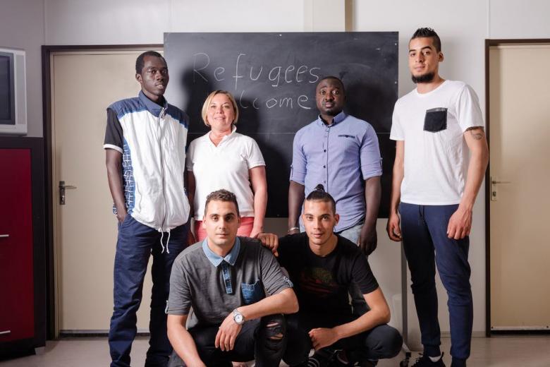Немецких студентов поселят вместе с беженцами? фото 1