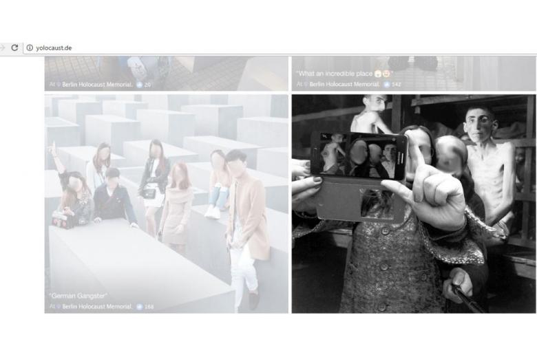 Туристы «селфятся» на фоне жертв концлагерей фото 1