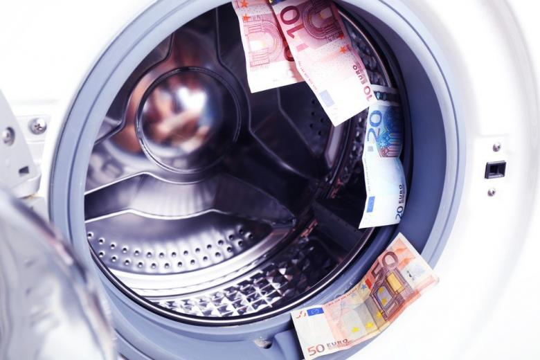 money in washing mashine