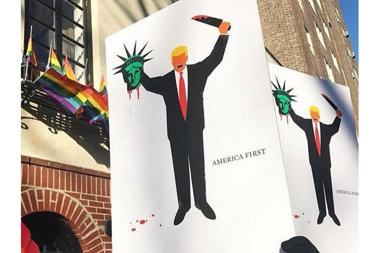 Трампа изобразили джихадистом фото 1
