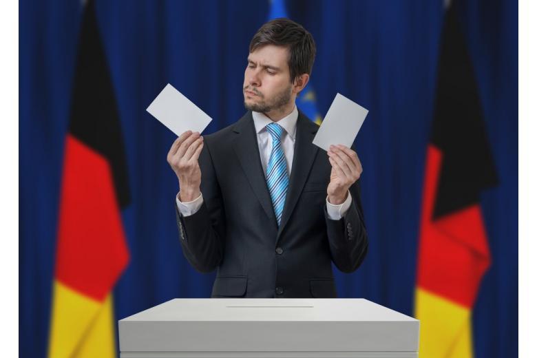 Немцам запретят фото в кабинках на выборах фото 1
