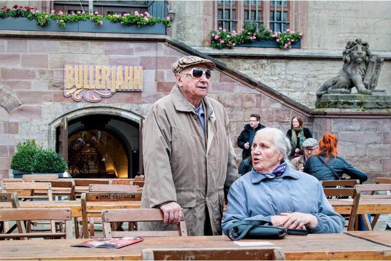 Выходцы из ГДР требуют выравнивания пенсий фото 1