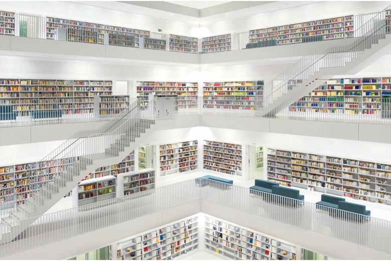 Рай для книголюбов: Штутгартская библиотека фото 1
