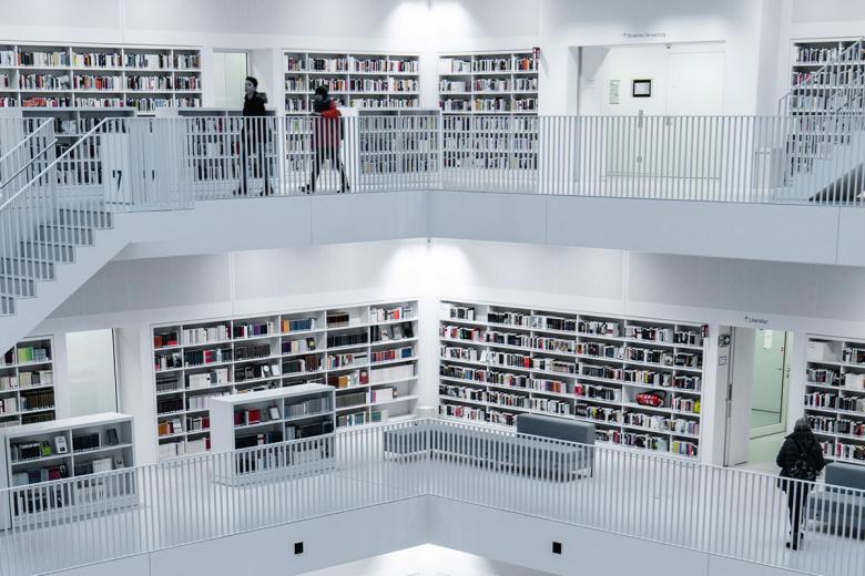 Штутгартская библиотека. Фото: Marcel Strauß / Unsplash.com
