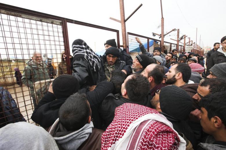 Европейцы  убегают от беженцев фото 1