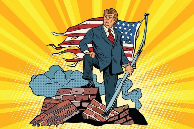 Стену Трампа построят немцы? фото 1