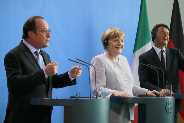 Сам виноват: Меркель и Олланд не осуждают США за ракетный удар по Сирии фото 1