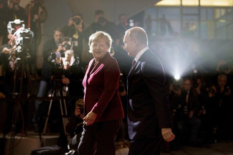 Меркель посетит Россию в начале мая фото 1