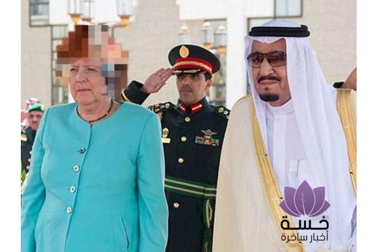 Меркель в хиджабе: как телевидение Саудовской Аравии «одело» канцлера фото 1