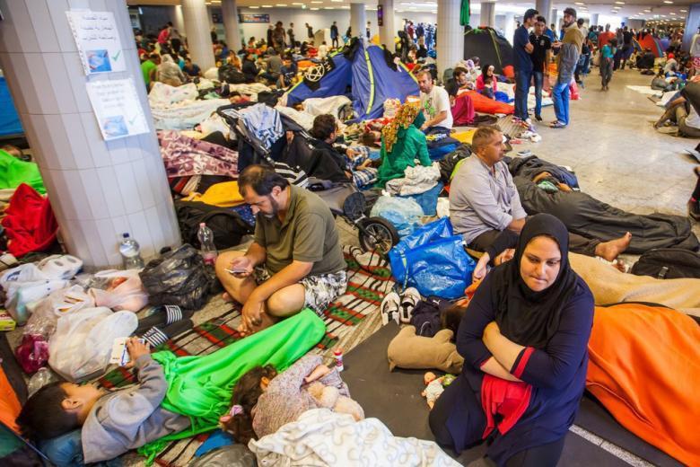 Сколько денег Германия потратила на беженцев за один год? фото 1