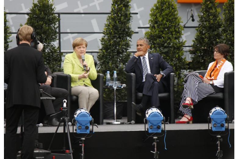 Как Обама в Берлин ездил фото 1