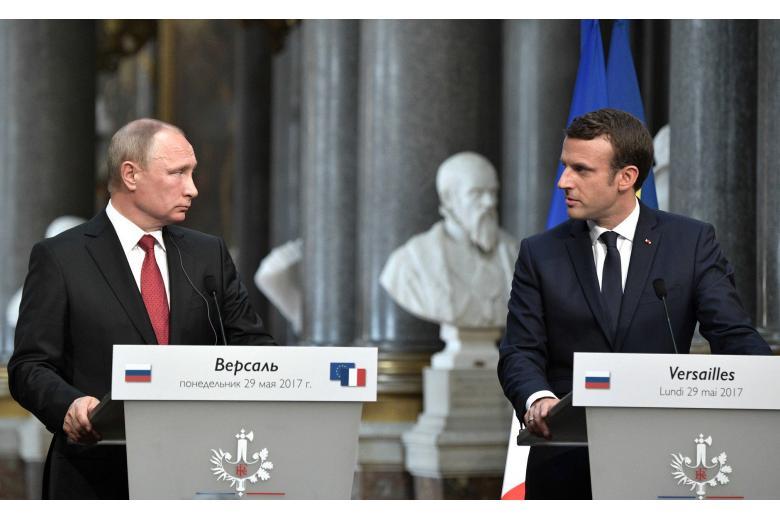 Чем закончился визит Путина к Макрону? фото 1