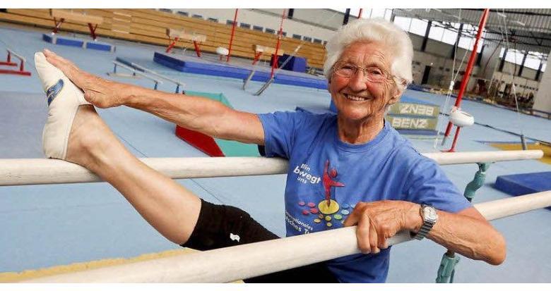 Старейшая гимнастка мира живет в Германии фото 1