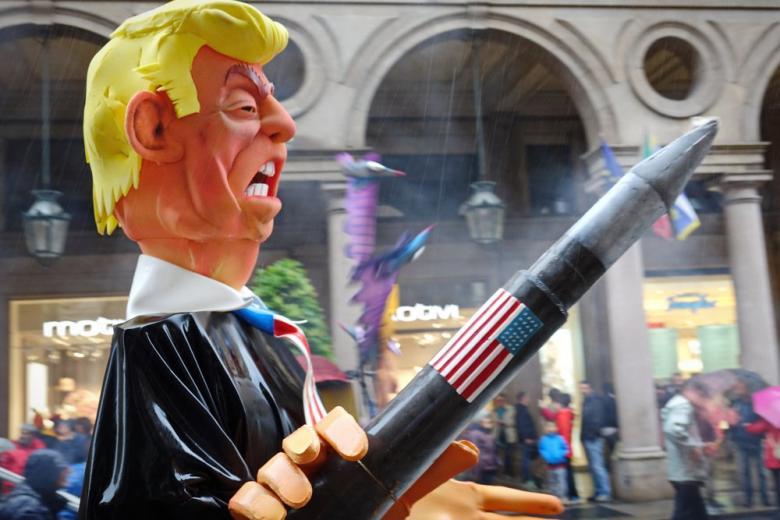 Трамп в образе свиньи: как артисты отнеслись к предстоящему саммиту G20 фото 1