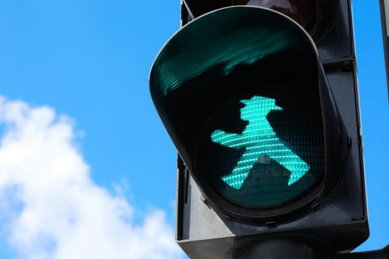 Необычные немецкие светофоры фото 1