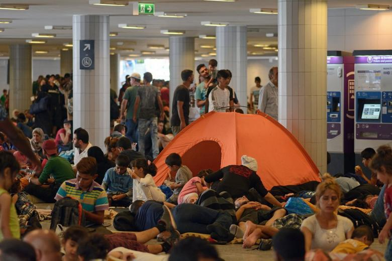 «Кризис с беженцами: справится ли с ним Германия?» - ток-шоу DW «Квадрига»