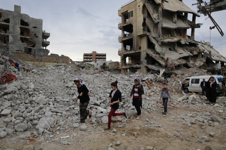 Дети из города Ракка нуждаются в поддержке психологов – волонтёры фото 1