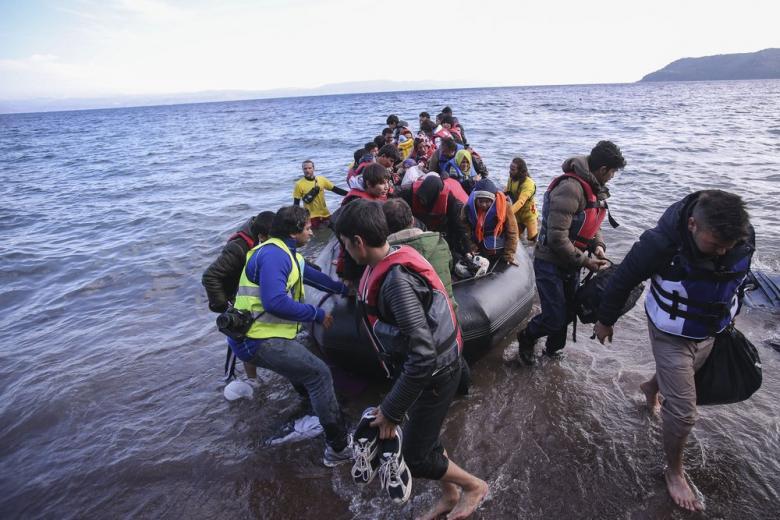 В ООН встревожены положением беженцев на греческих островах в Эгейском море фото 1