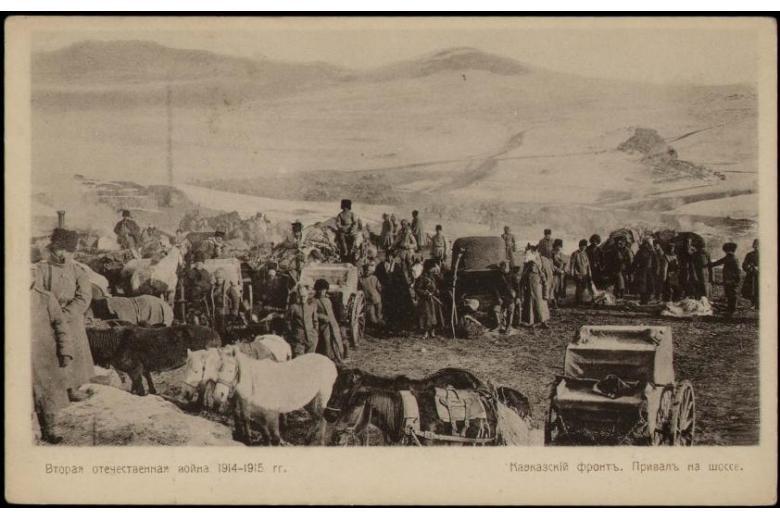 Кавказские немцы в годы Первой Мировой войны фото 1
