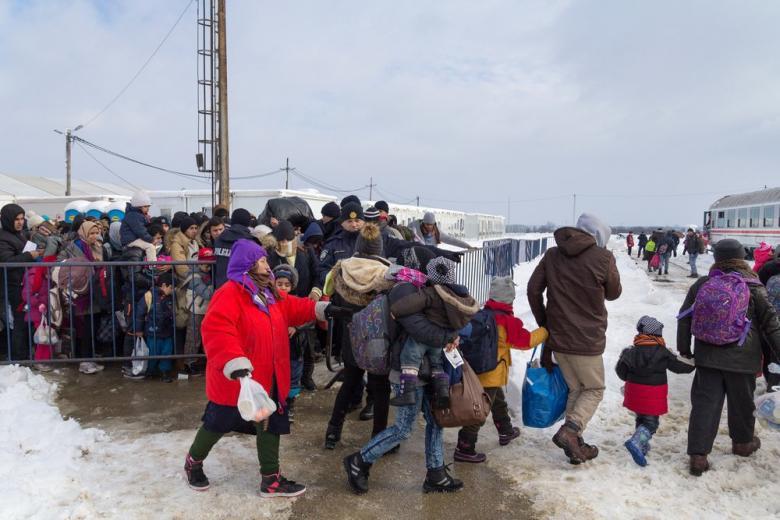 Миллионы беженцев на Ближнем Востоке могут остаться без поддержки в преддверии зимы фото 1