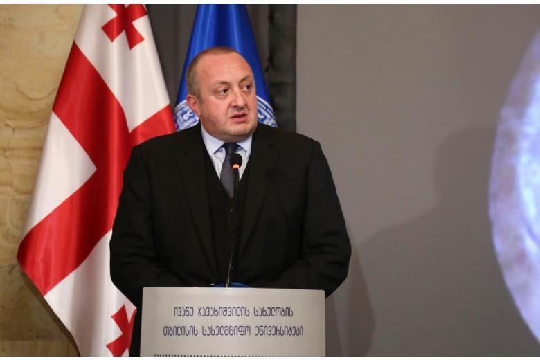 Президент Грузии призвал разработать стратегию против агрессии России фото 1