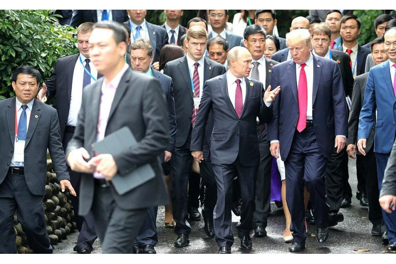 Трамп и Путин подписали совместное заявление по Сирии фото 1