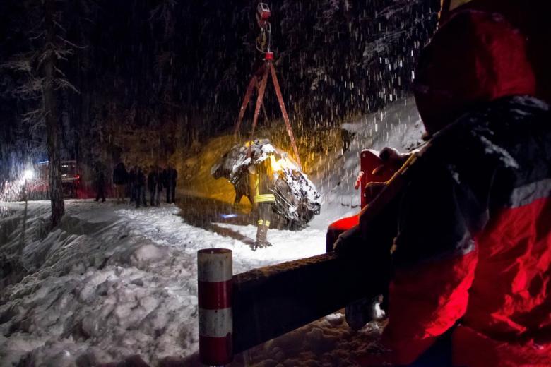 В Германии было много аварий из-за первого снега фото 1