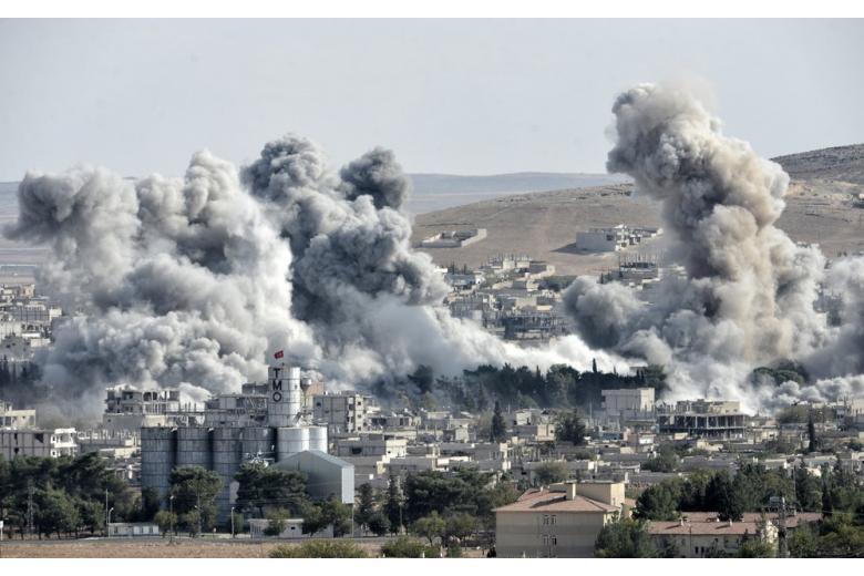 В результате военной операции Турции в Сирии страдают мирные жители фото 1