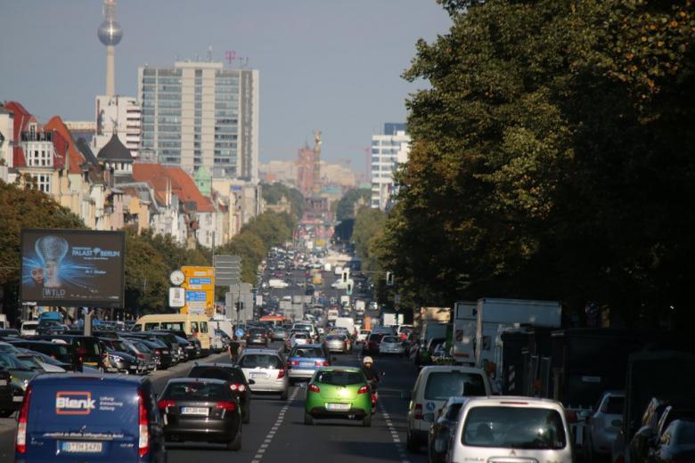 В каком немецком городе больше всего пробок на дорогах? фото 1