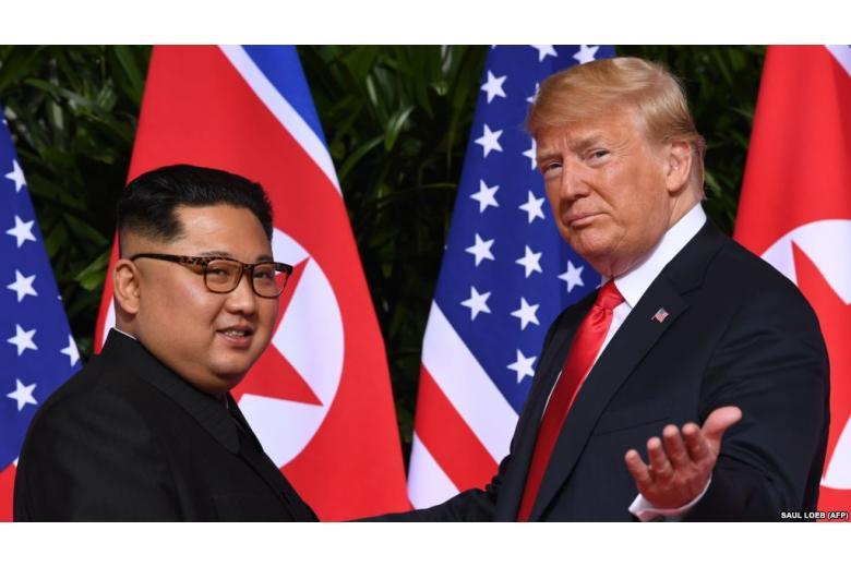 """""""Понравились друг другу"""". Дональд Трамп о Ким Чен Ыне фото 1"""