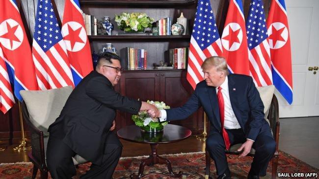 """""""Понравились друг другу"""". Дональд Трамп о Ким Чен Ыне фото 4"""