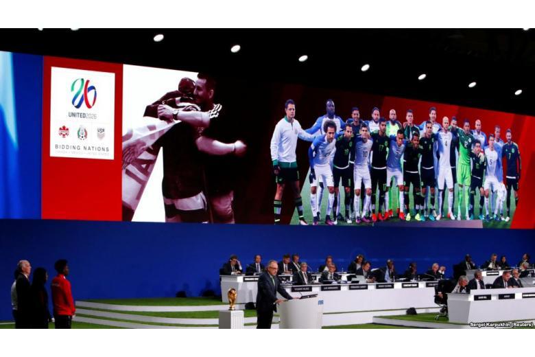 Чемпионат мира по футболу 2026 года примут США, Канада и Мексика фото 1