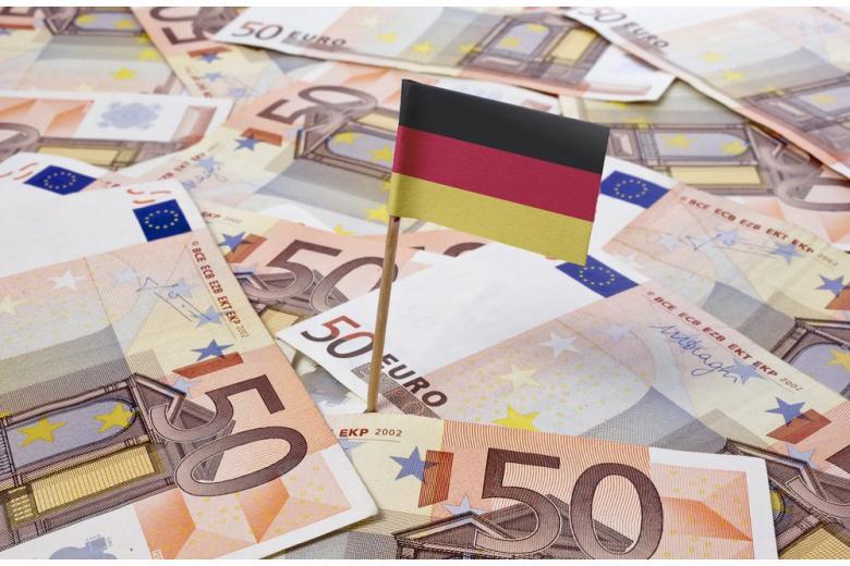 Евро, государственный долг Германии